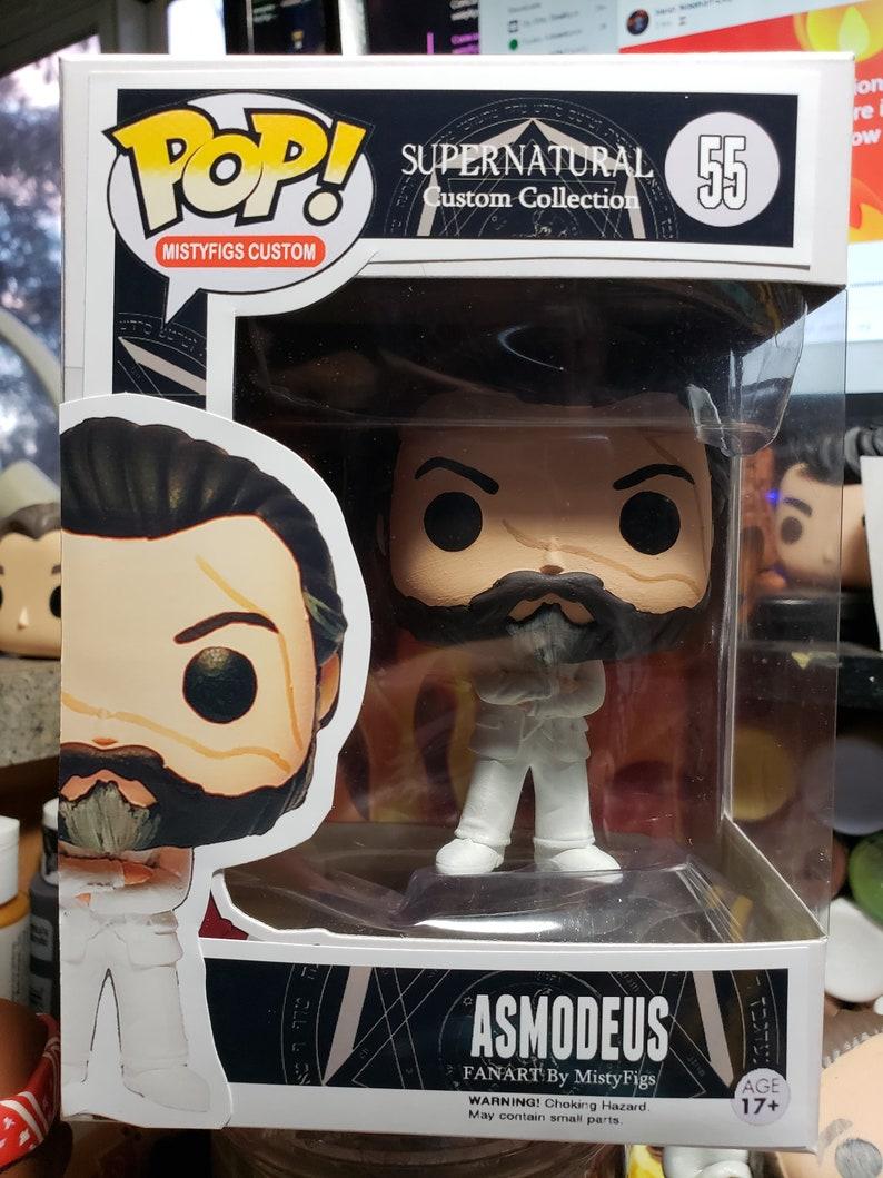Supernatural Asmodeus - Custom Funko pop toy- Made to Order