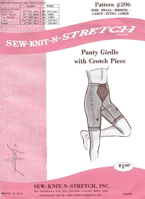 Coser-tejer-N-tramo 206 señoras 60 años Panty pierna larga | Etsy