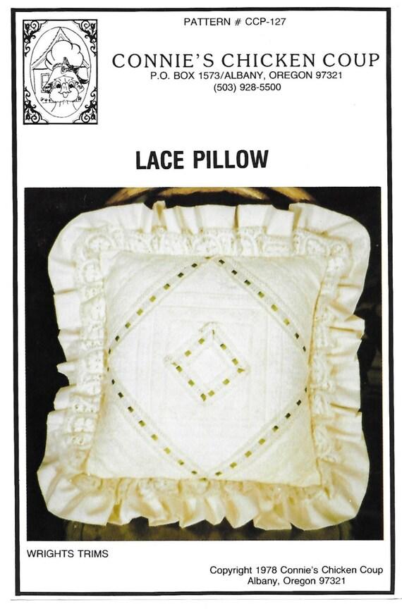 Pollo golpe CCP-127 encaje almohada patrón de costura de | Etsy