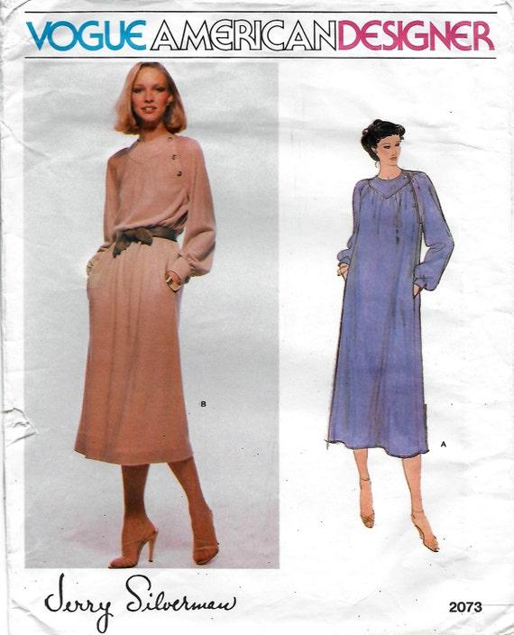 Moda diseñador americano 2073 Jerry Silverman pierde vestido   Etsy