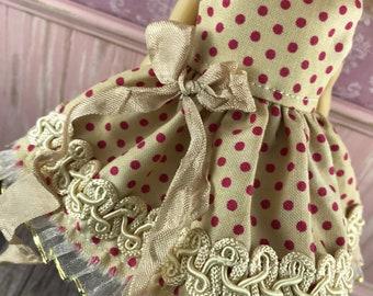 Blythe Dress - Tea Stain Spot