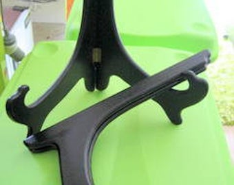 BLACKWOOD Plate Stands SET of TWO