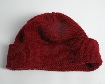 74f4167403c Hand knitted wool hat
