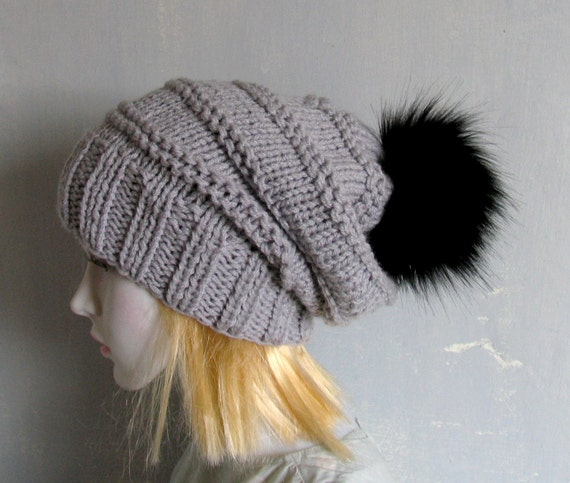 5a9679f8934 Womens Hat Slouchy Slouch Beanie Cable Women Oversized Chunky
