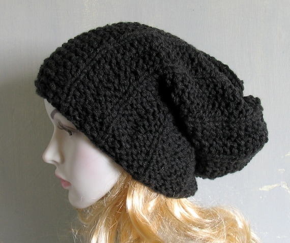 Super Slouchy Beanie Big Slouch Baggy Hat Winter Adult Teen  29684fe2fca