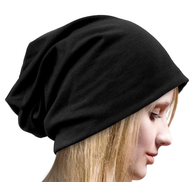 8b5eb27de12 Cotton Slouchy Beanie Slouch Hat Womens Mens Chemo Hat Stylish