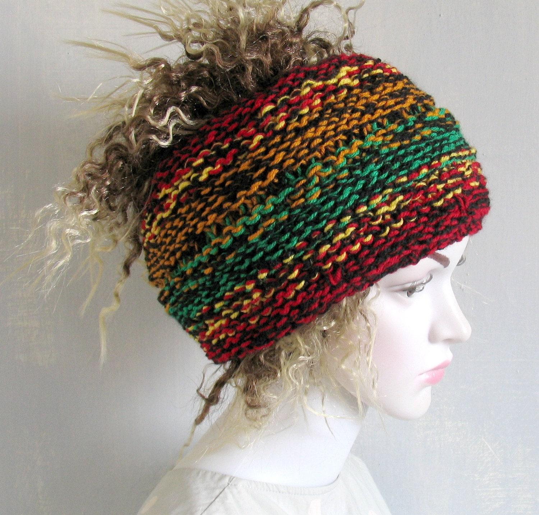 Knit Dreadlocks Accessory Mens Dreadlock Tube Hat Womens Hat Etsy