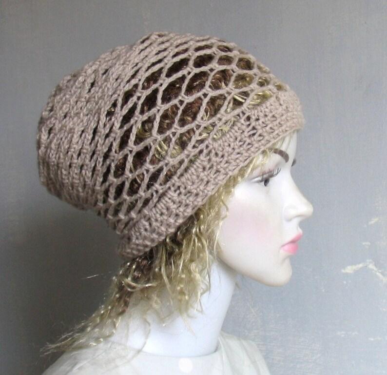 3512f953 Men Women Black Slouchy Beanie Dreadlock Tam Winter Beanie Hat | Etsy