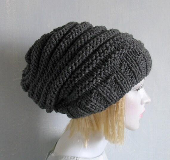 25311eb01c5 Sacking Winter Hat Slouchy Beanie Hat Oversized Hat Chunky