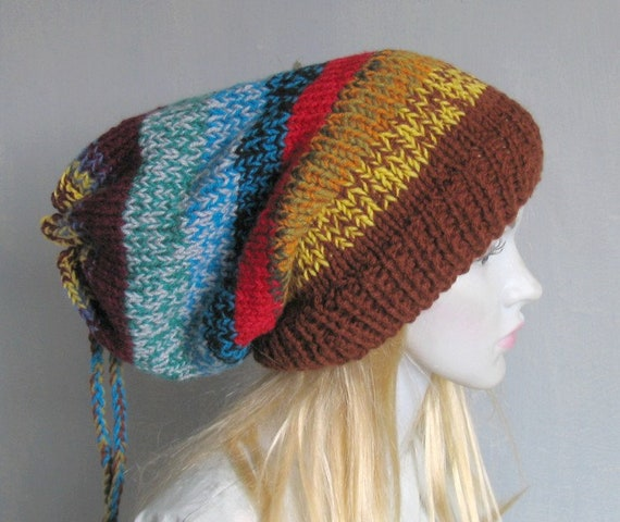 Mens Womens Winter Dreads Hat Tam Winter Hat for Dreadlocks  469e8cc2445
