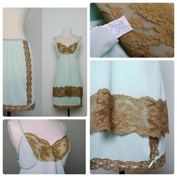 60s Crochet Lace Lingerie large