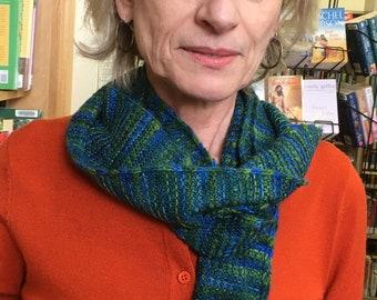 Merino cashmere scarf