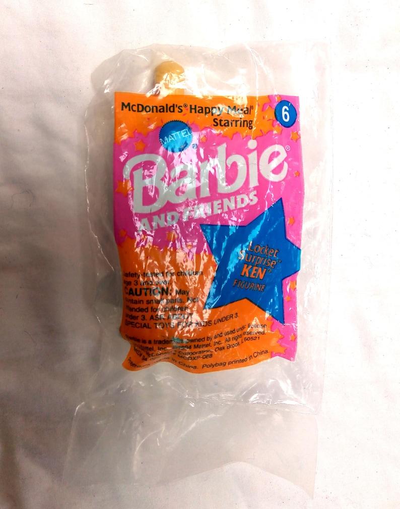 1994 Locket Surprise Ken Doll McDonald/'s Happy Meal Toy Prize in Original Packaging
