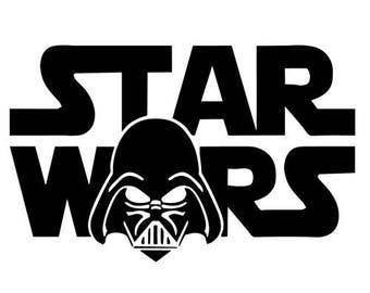 Darth Vader Star Wars Vinyl Decal Sticker
