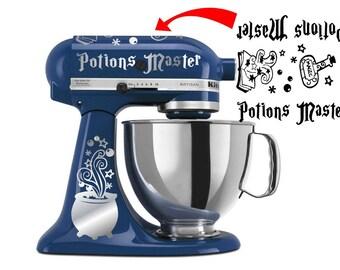 Potion's Master KitchenAid vinyl decal stickers