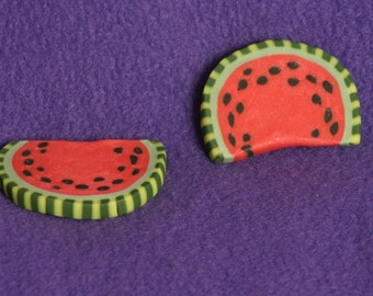 1 watermelon slice doll food for American Girl dolls