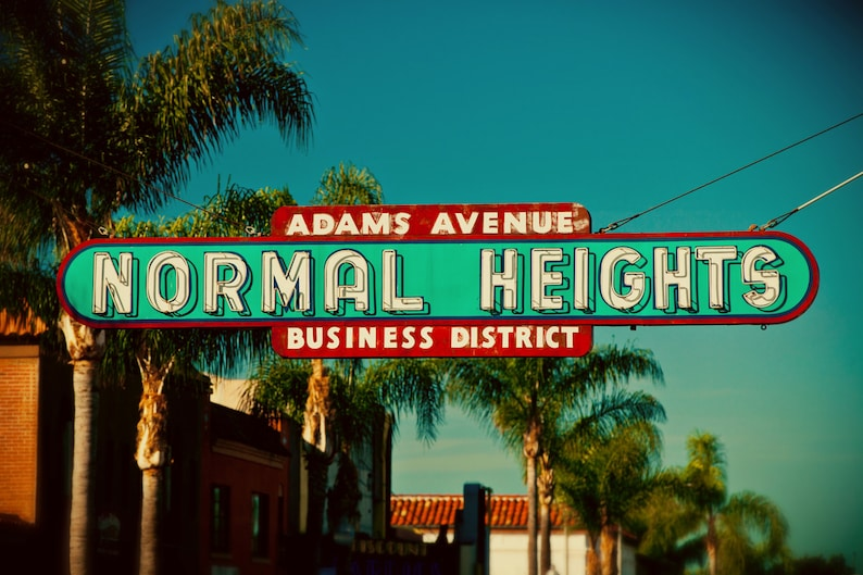 Image result for normal heights sign