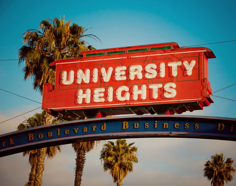 Image result for university heights sign