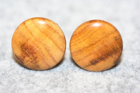 Canarywood Cufflinks