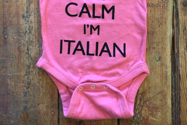 Italian ~Italian baby~Italy ~Italy shirt~Italian Baby Shower~Italian Stallion~Italiano~Bambino~Bambina~Italian Shirt~Italian baptism italy