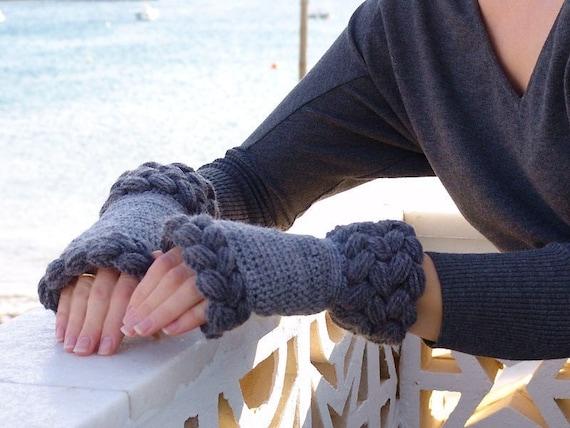 Fingerlose Handschuhe Fngerless Handschuh Handschuhe stricken   Etsy
