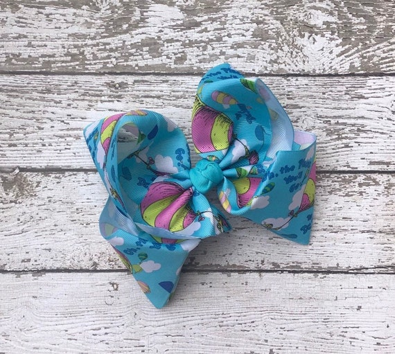 Handmade Girls Little Diva Hair Bow Clip Sold In Pairs