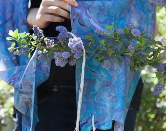 Tallit for women- silk Custom