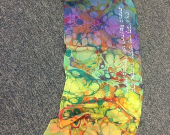 "Custom Tallit for women 14""x 72""- silk"