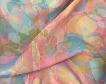 Light Pastel Silk Tallit | hand-made, one-of-a-kind, jewish prayer shawl, custom tallits for women & girls, tallit for bat mitzvah