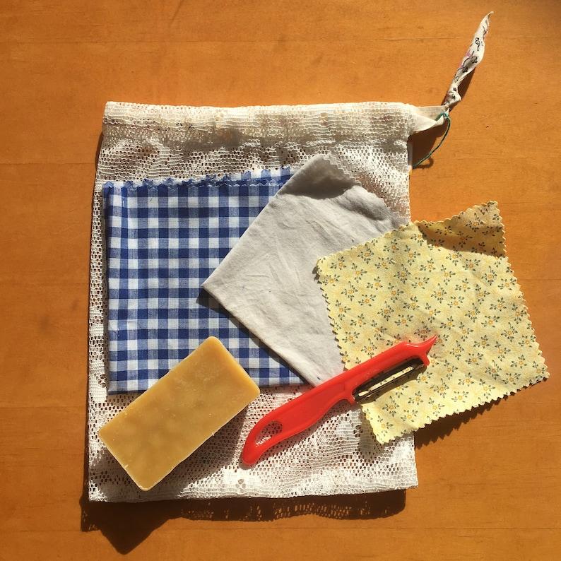 DIY Beeswax Wrap Making Kit