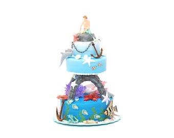1:12 Mermaid on the Waves Cake Kit NEW!