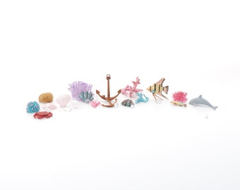 1:12 3D Ocean Critters Kit - 19 pieces!!! - BRAND NEW!