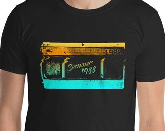 Summer of 1988... Yours to own on VHS Home Video! Nostalgic Eighties Graphic Tee