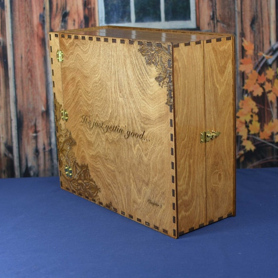 Extra Thick Photo Album 12X12X4.5 with Hinges & Latch