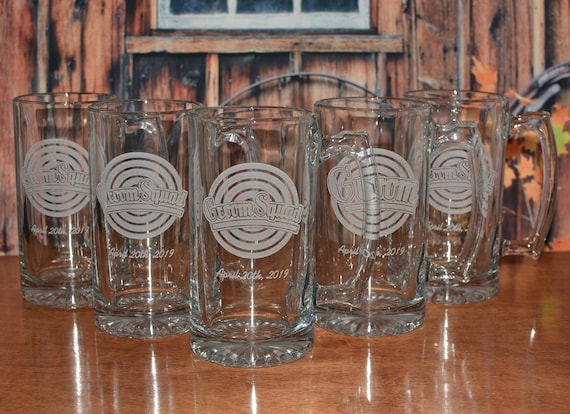 5 Personalized Beer Steins for Your Wedding Party Members
