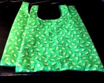 Two Fabric Shopping Bags
