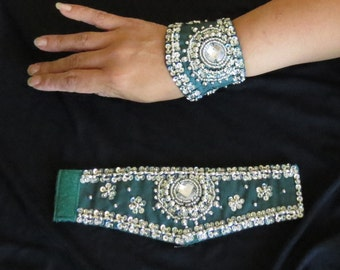 Bollywood / Belly Dance Wrist Cuffs