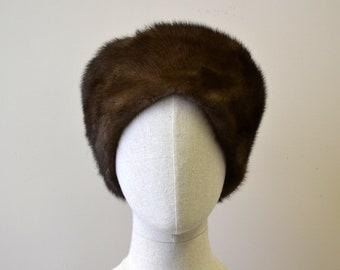 1960s Mink Fur Toque