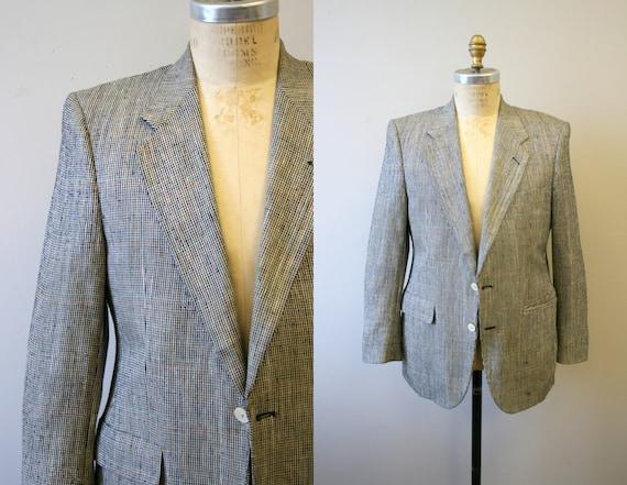1950s Tweedy Silk Men's Sports Coat
