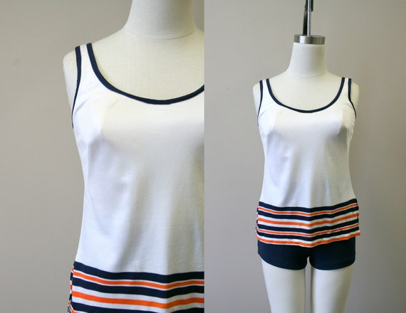 1960s Roxanne Two Piece Swimsuit