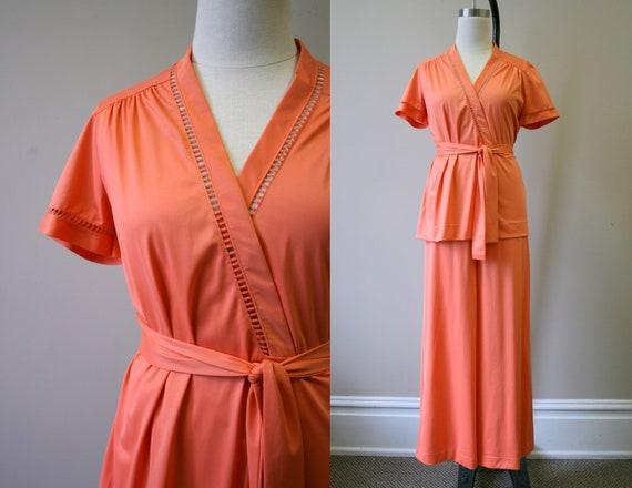 1960s Vanity Fair Pajamas Set