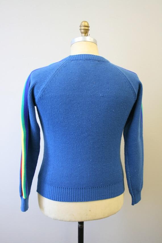 1970s Rainbow Stripe Sweater - image 5