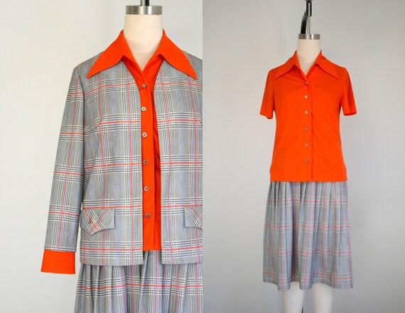 1970s Nardis Jacket, Skirt, and Blouse Set