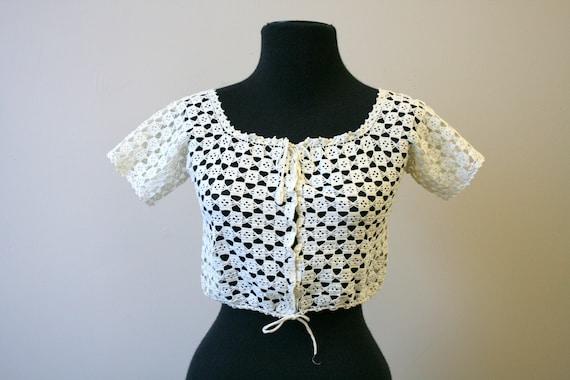 Victorian Crochet Corset Cover