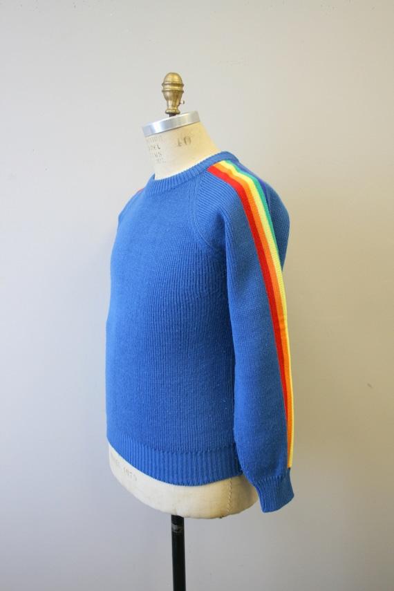 1970s Rainbow Stripe Sweater - image 4
