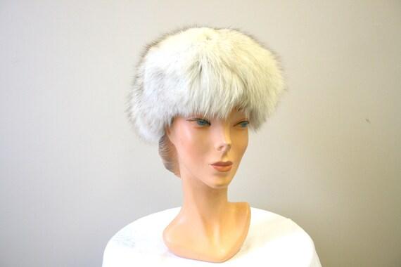 1960s Mottled Fur Hat - image 3
