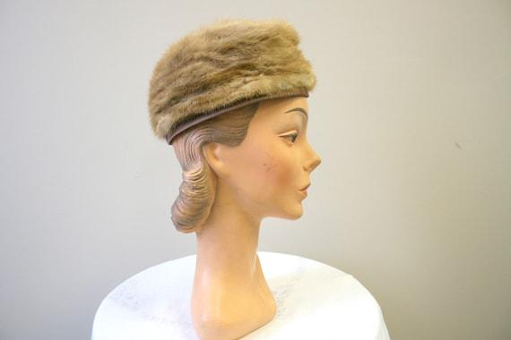 1960s Dece Blond Fur Hat - image 3