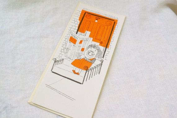 1950s NOS Greeting Card with Envelope