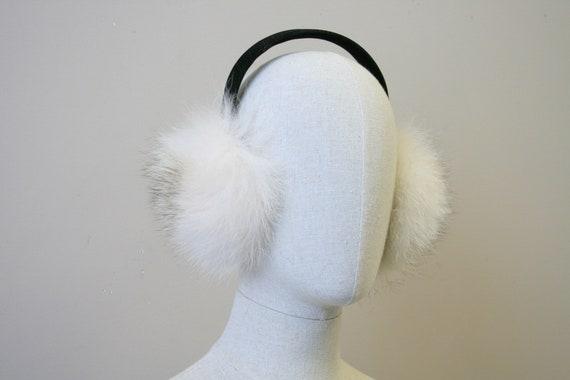 1980s Fur Earmuffs