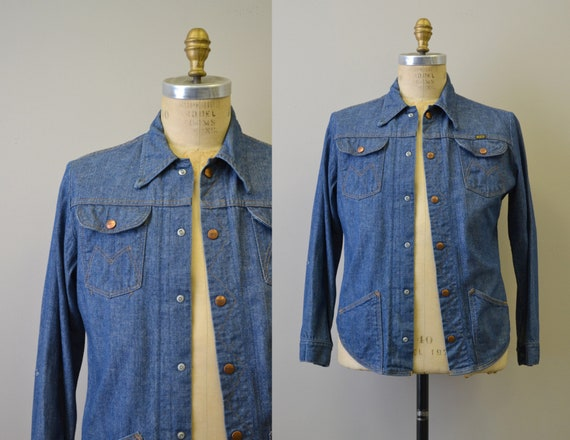 1970s Maverick Denim Shirt